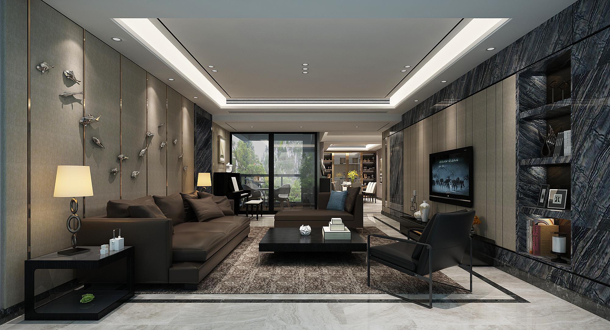 博林天瑞李先生的現代之屋的家