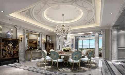 别墅装修浪漫法式风格设计
