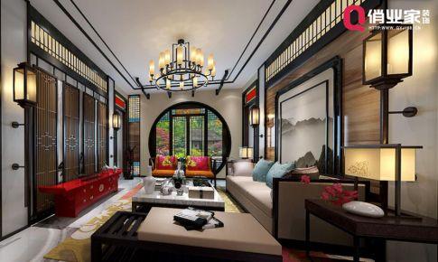 俏业家装饰|重庆世茂茂悦府别墅|新中式风格|设计案例