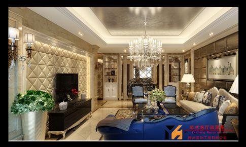 欧式客厅卧室装修效果图
