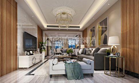 盛世香园现代三室装修效果图欣赏