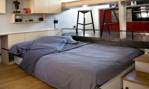 16平米微公寓装修效果图 16平米微公寓装修案例