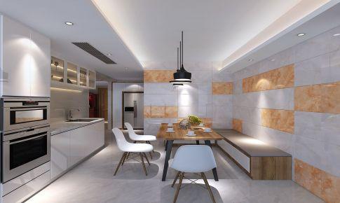 厦门新景国际 复式楼装修 现代风格