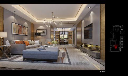 140㎡现代风格四室两厅两卫