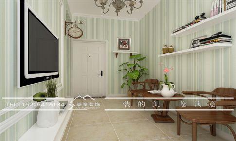 大曌国际广场小户型装修一居室设计案例洛阳装修公司美意装饰