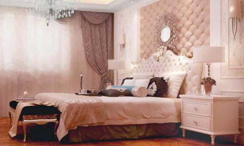 乐湾国际160㎡ 米黄色与白色的融合 造就低调奢华简欧风
