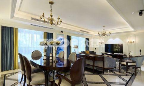 【众意】王家湾中央生活区-194㎡ 四室 欧式风格