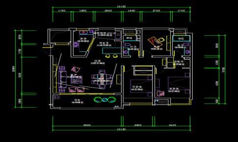 大三居客厅装修图