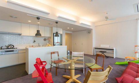 简约风格公寓改造效果图欣赏 5口之家的多彩生活