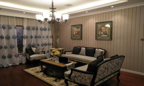 长沙荣欣装饰-法式优雅两居室装修效果图