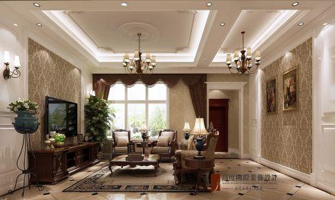滟澜新宸350㎡美式古典风格