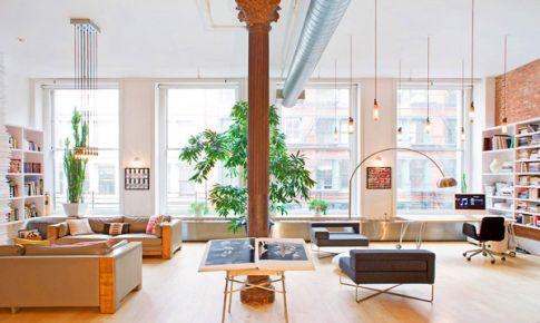 《穿普拉达的女王》中的宽敞公寓装修效果图