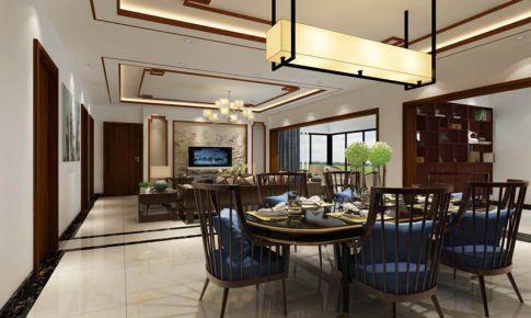 三居室中式风格装修效果图