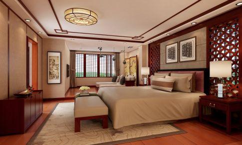 清溪园别墅中式装修风格欣赏