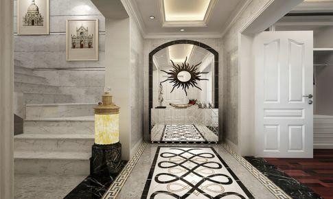 叠加别墅欧式风格设计 保利茉莉公馆