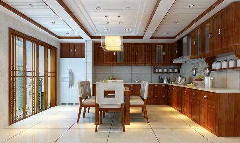 星艺装饰&瑞家U品都市国际四居室中式风格装修案例