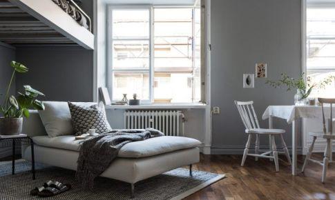 32平米一室北欧公寓装修效果图欣赏