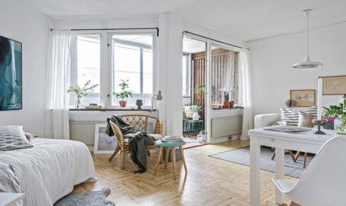31平米北欧风装修效果图欣赏 创造清洗舒适的空间