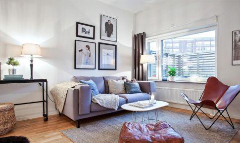 35平米精致北欧公寓装修案例 装饰精美且实用