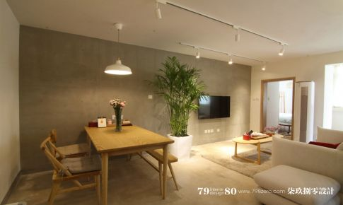 七九八零室内设计日式风格实景案例