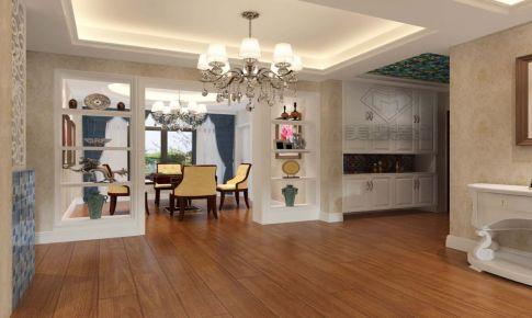 125㎡欧式风格三室两厅两卫
