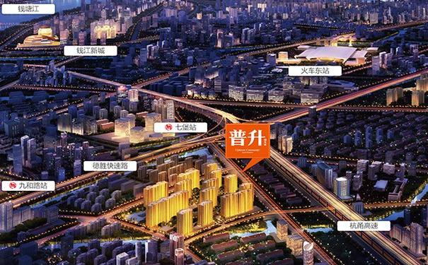 杭州阳光城普升预售均价为24000--28000元/㎡