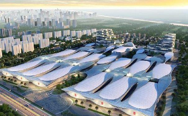 青岛建东北亚会展名城 世界博览城明年8月开门纳客