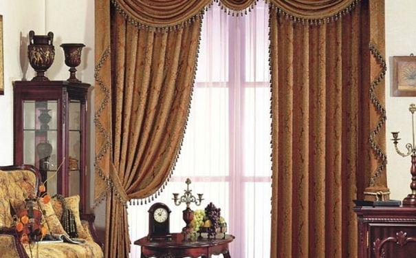 欧式窗帘颜色搭配技巧 欧式窗帘颜色搭配效果图欣赏