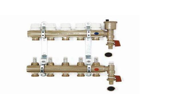 地暖分水器的结构 地暖分水器种类及安装步骤