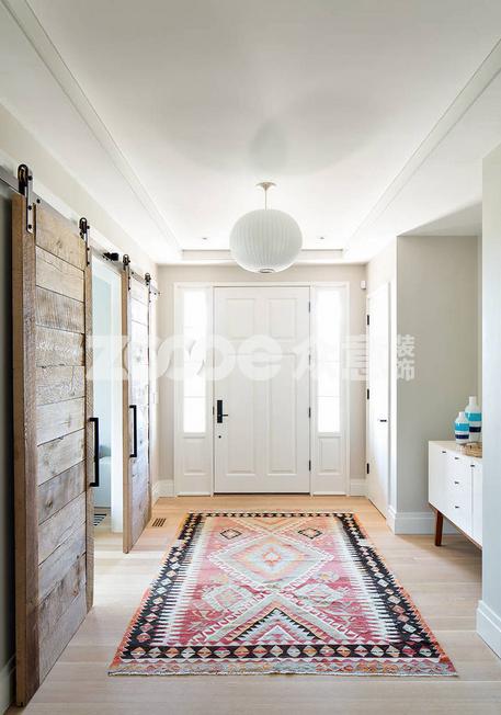 玄关地毯 选对了颜色和方位旺家宅