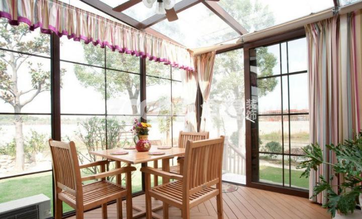 阳台设计 连挑剔的曲妖精都被折服的美