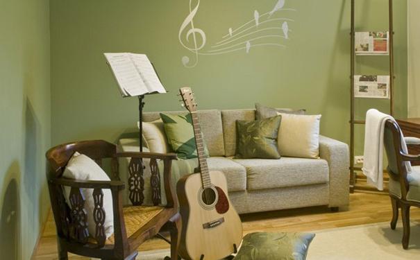 用色彩点缀不一样的家 淮安装修网分享家居色彩搭配
