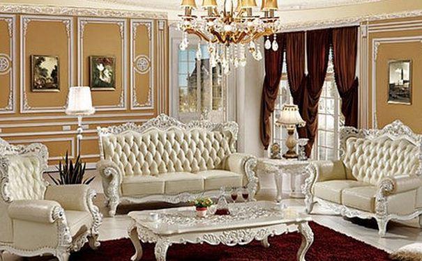 家居欧式沙发搭配有技巧 2017欧式沙发搭配效果图