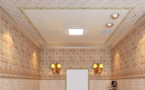 卫生间什么吊灯好 宁波装修网分享卫生间吊顶材质及安装高度