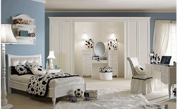 女孩子卧室如何装修设计 女孩子卧室装修设计效果图