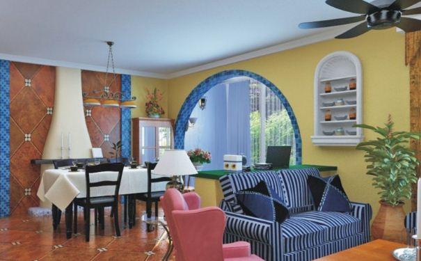 家居地中海风格软装如何搭配 家居地中海风格软装搭配技巧