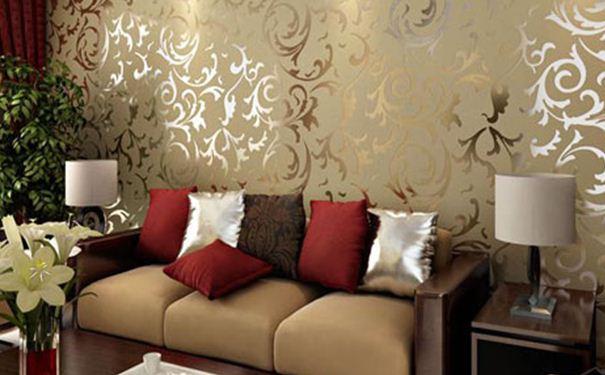 植绒壁纸施工注意事项 植绒壁纸的保养技巧