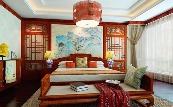 上海97平中式婚房如何装修 上海97平中式婚房设计方案