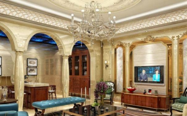 客厅欧式吊顶如何装修设计 客厅欧式吊顶装修设计效果图