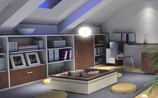 青岛别墅阁楼设计 合理利用空间结构