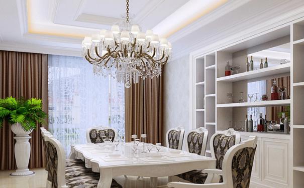 佛山新古典风格如何设计 奢华精致新古典设计效果图