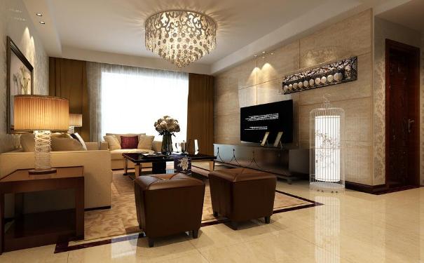 嘉兴时尚简约客厅怎么打造 现代简约客厅装修效果图