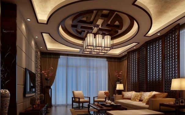 无锡家装中式圆形吊顶怎么安装 中式圆形吊顶安装方法与注意事项