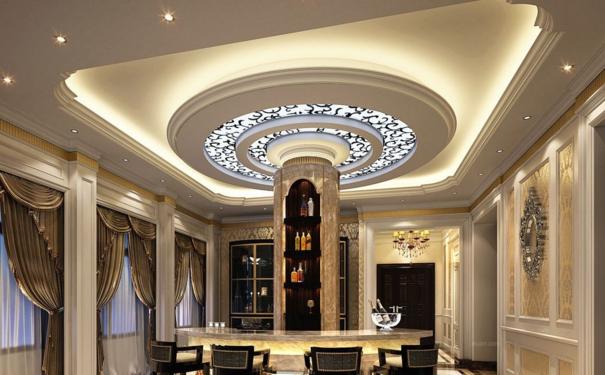 厦门时尚简约餐厅吊顶怎么装修设计 餐厅吊顶的设计技巧