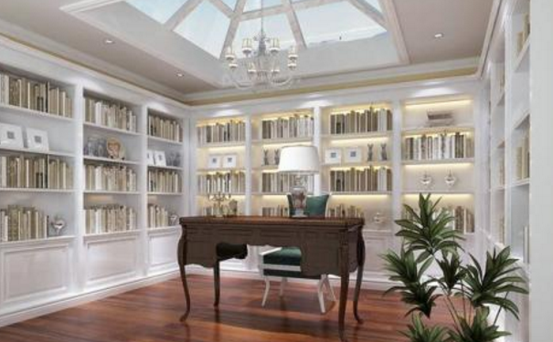 南昌简欧书房怎么设计 简欧书房装修设计
