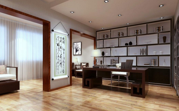 大连开放式书房如何设计 开放式书房装修设计