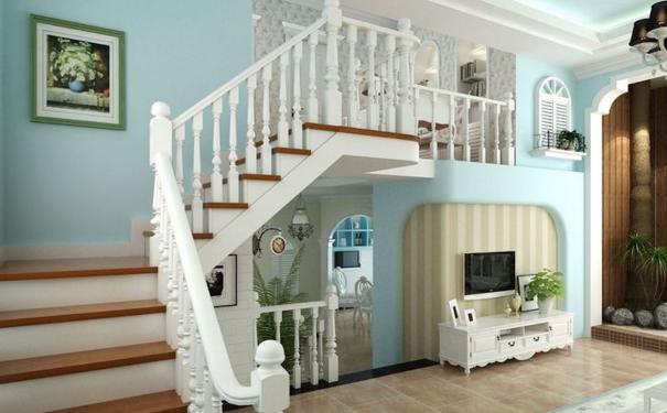 厦门小复式楼梯装修哪种好 小复式楼梯的装修设计
