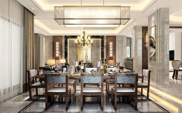 别墅中式餐厅如何装修设计 别墅中式餐厅装修设计方案
