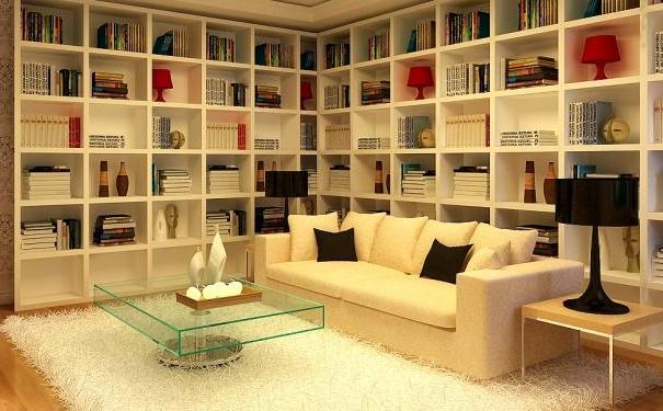 泉州别墅开放式书房怎么装修 别墅开放式书房的装修技巧