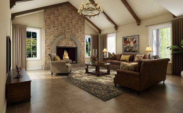 美式别墅如何装饰 美式别墅装饰效果图欣赏